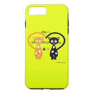 Capa de telefone de Chacha (amarelo)