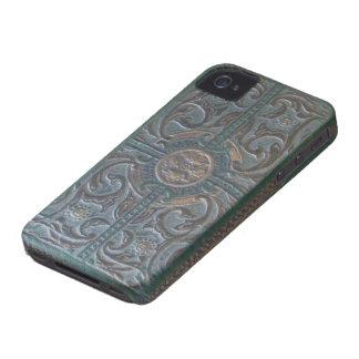 Capa de telefone de couro utilizada ferramentas capinha iPhone 4