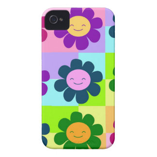 capa de telefone de flower power capas para iPhone 4 Case-Mate