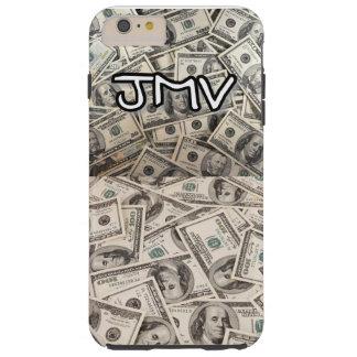 Capa de telefone de IPhone 6 do J-Dinheiro