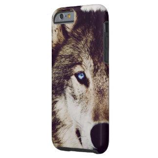 Capa de telefone de IPhone 6 do olho do lobo