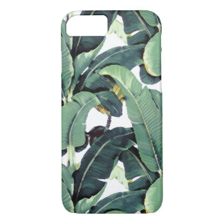 Capa de telefone de Iphone da palmeira da folha da