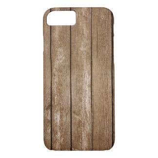 Capa de telefone de madeira