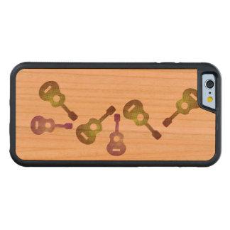 Capa de telefone de madeira abstrata do