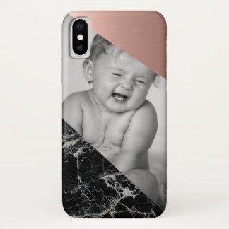 Capa de telefone de mármore com um toque de