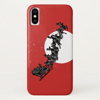 Capa de telefone de Papai Noel Iphone X