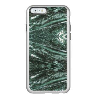 Capa de telefone de pedra de mármore verde da