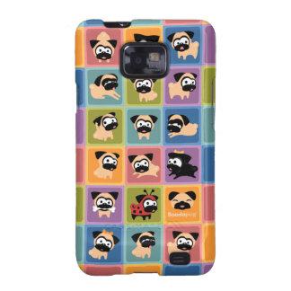 Capa de telefone de Samsung do bloco da cor de Capa Galaxy SII