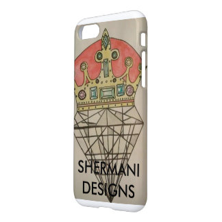 CAPA DE TELEFONE DE SHERMANI DESIGNS-IPHONE