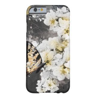 Capa de telefone de Smart da flor da ameixa de
