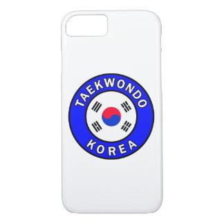 Capa de telefone de Taekwondo