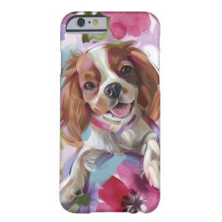 Capa de telefone descuidado da arte do cão do