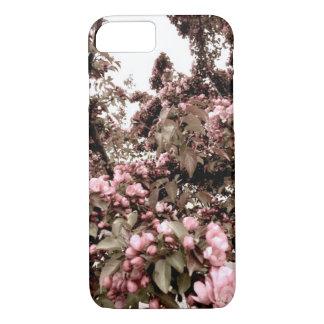 Capa de telefone desvanecida das flores