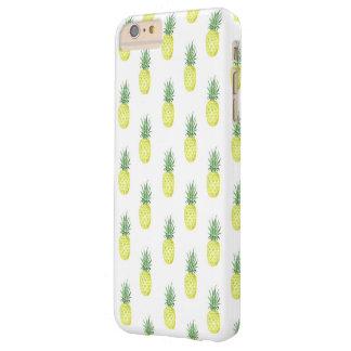Capa de telefone do abacaxi da aguarela