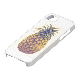 Capa de telefone do abacaxi do vintage capa para iPhone 5