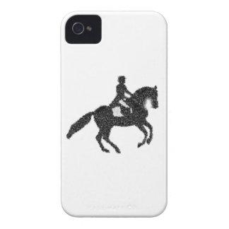 Capa de telefone do adestramento - cavalo e