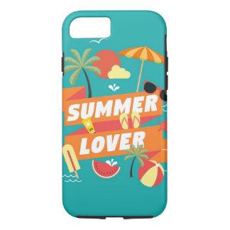 Capa de telefone do amante do verão