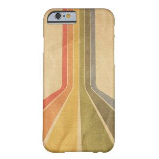 Capa de telefone do arco-íris do vintage capa barely there para iPhone 6