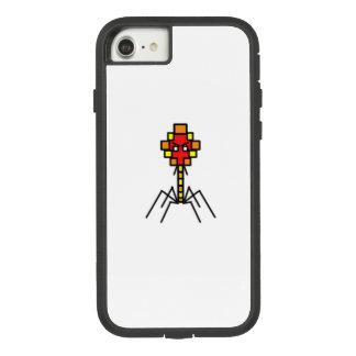 Capa de telefone do bacteriófago de Pixelated