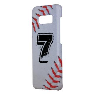 Capa de telefone do basebol de Samsung S8