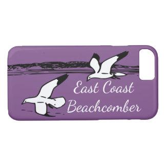 Capa de telefone do Beachcomber da costa leste da