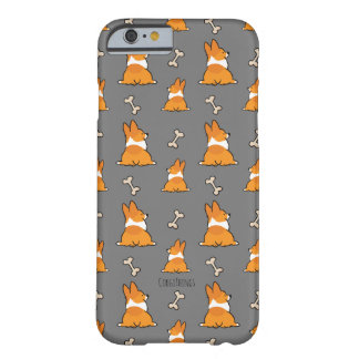 Capa de telefone | do bumbum do Corgi customizável