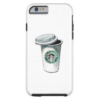 Capa de telefone do café