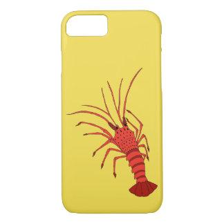 Capa de telefone do camarão