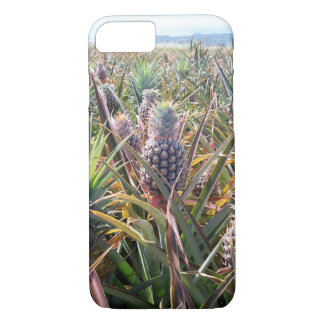 Capa de telefone do campo do abacaxi