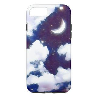 Capa de telefone do céu nocturno da aguarela