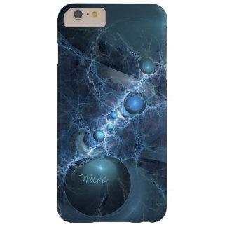 Capa de telefone do design do Fractal em azul