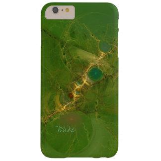 Capa de telefone do design do Fractal no verde