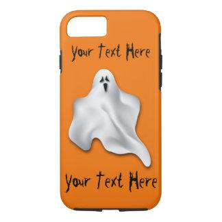 Capa de telefone do Dia das Bruxas com fantasma e
