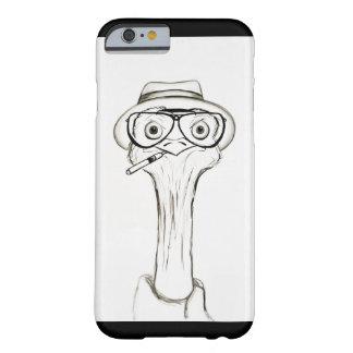 Capa de telefone do esboço da avestruz
