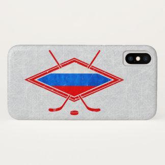 Capa de telefone do hóquei em gelo do russo