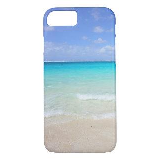 Capa de telefone do horizonte da cena da praia do