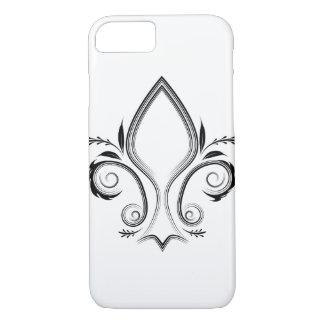 Capa de telefone do ícone da flor de lis