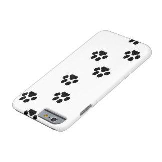 Capa de telefone do impressão da pata do cão