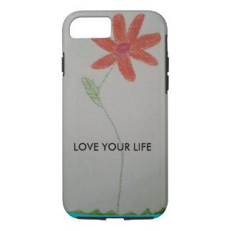 capa de telefone do iPhone 6 da flor