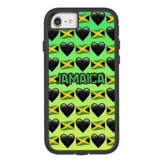 Capa de telefone do iPhone 7 de Jamaica Emoji