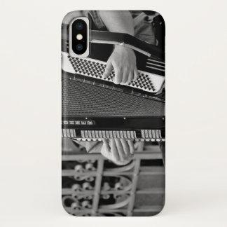 Capa de telefone do jogador do acordeão