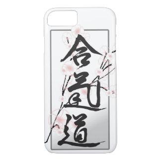 Capa de telefone do Kanji do Aikido