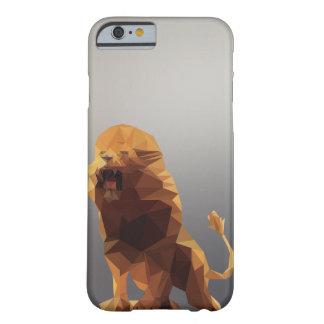 Capa de telefone do leão