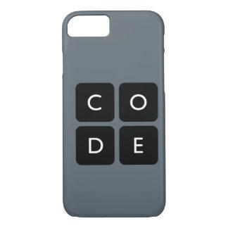 capa de telefone do logotipo de Code.org