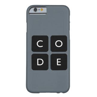 capa de telefone do logotipo de Code.org Capa Barely There Para iPhone 6