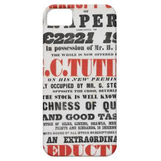 capa de telefone do móbil do Handbill-estilo dos