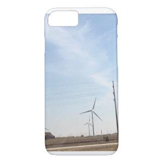 Capa de telefone do moinho de vento