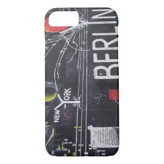 Capa de telefone do muro de Berlim