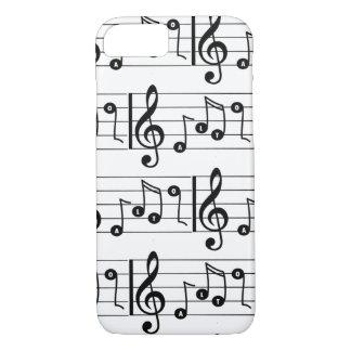 Capa de telefone do Musical do cantor do alto