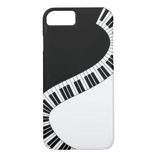 Capa de telefone do Musical do piano